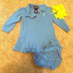 Ralph Lauren little girls dress size 12 month